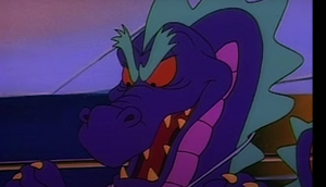 No Heart as a dragon