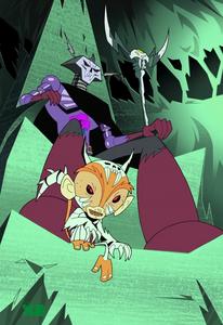 Skeleton King and Clone Mandarin