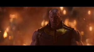 "Avengers Infinity War Knowhere Scene Thanos ""I like him"