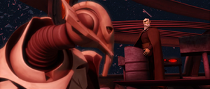 Count Dooku displease