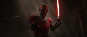 Darth Maul worried