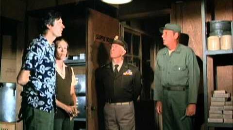 Harry Morgan as General Steele