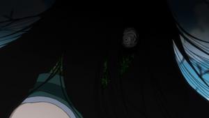 Illumi's face