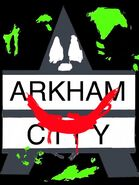 Joker arkham city logo by joz the super saiyan-d56txqn