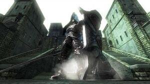 Demon's Souls 4K Tower Knight Boss Fight 2