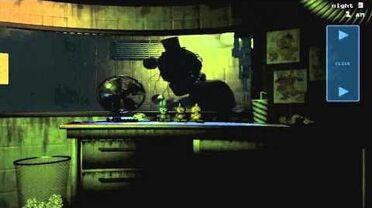 FNAF 3 phantom Freddy jumpscare