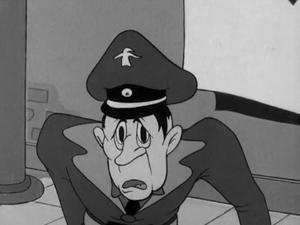Mustacheless Hitler