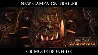 Total War WARHAMMER - Grimgor Ironhide Campaign Trailer - In-Engine Cinematic ESRB