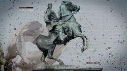 Zakhaev Statue