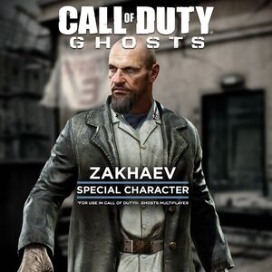 CoD Ghosts Zakhaev DLC