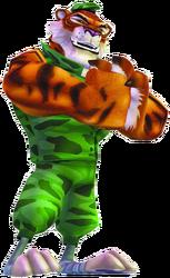Crash of the Titans Tiny Tiger