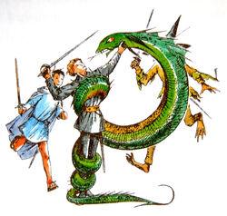 Emerald Witch serpent
