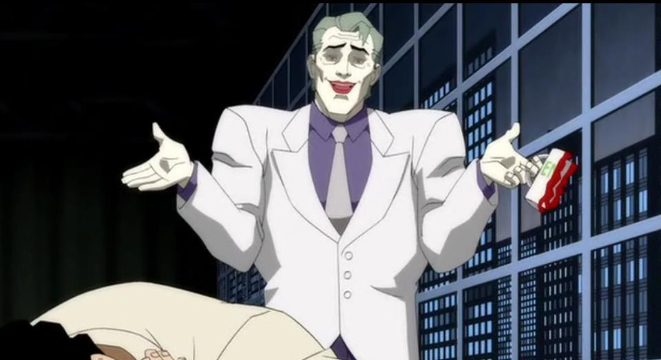 Dark Knight Returns Comic Joker