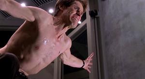 Norman Osborn rising to power as he turns into the Green Goblin