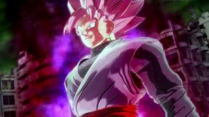 SSRosé Goku Black Xenoverse 2 mission