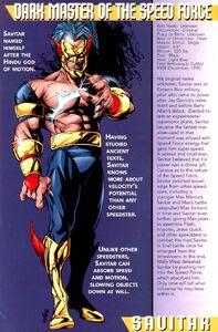 Savitar bio comics
