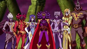 The Seven Barian Emperors