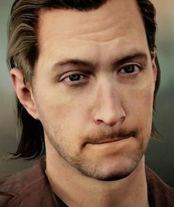Closeup of Shane