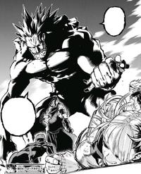 Gigantomachia defeats the League of Villains