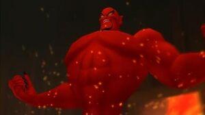 Kingdom Hearts Jafar, Genie Form Boss Fight (PS3 1080p)