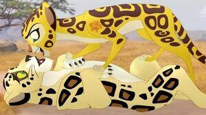 Lion Guard Fuli Vs Makucha Round 2 (or 3 or 4) The Wisdom of Kongwe HD Clip