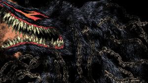 Berserk beast of darkness colouring by saurion1-dawpvkl