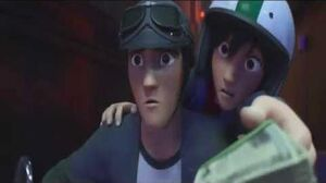 Big Hero 6 Clip -Tadashi To The Rescue-