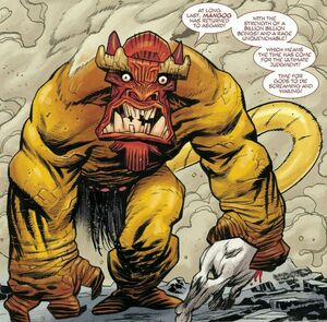 Mangog (Earth-616) from Mighty Thor Vol 1 700 001