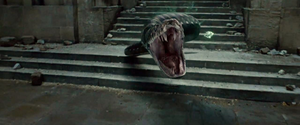 Nagini during the final battle