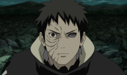 Obito mask realaved in anime