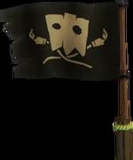 Tiki tak tribe flag
