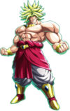 Broly legendary super saiyan form by fictionalomniverse-d8seeiw
