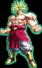 Broly legendary super saiyan form by fictionalomniverse-d8seeiw