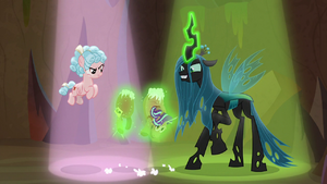 Chrysalis rips stuffed Starlight doll in two S9E8