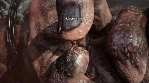 God of War III - Boss 5 Cronos 1 2