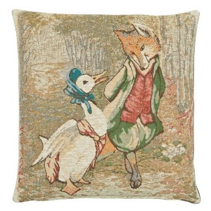 Jemima-puddle-duck-and-foxy-whiskered-gentleman-tapestry-cushion