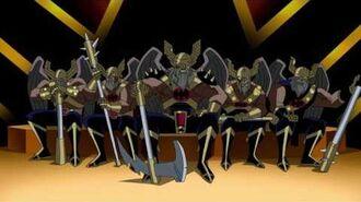 The Thanagarians betray Earth