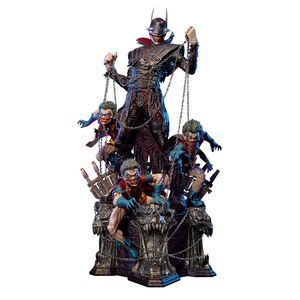 Batman who Laughs and Robins Statue