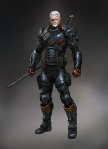 Deathstroke Unmasked (Batman Arkham Origins)