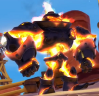 Fire Geargolem
