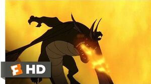 Quest for Camelot (4 8) Movie CLIP - Chased by Dragons (1998) HD