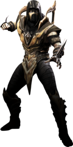 Scorpion in Injustice: Gods Among Us