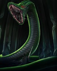 The Serpent of Slytherin