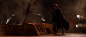 Anakin walking