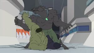 Man-Wolf vs Hulk