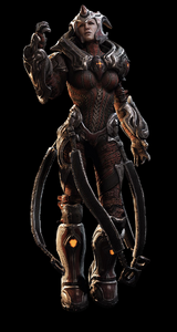 Queen Myrrah Gears 3 Art
