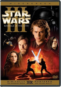 Revenge Of The Sith DVD