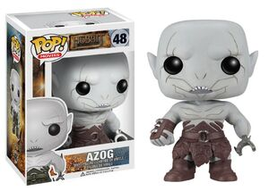 The hobbit azog pop glam