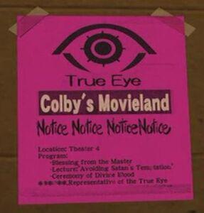 True Eye poster