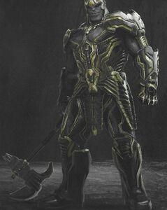 Warlord Thanos concept art 15